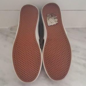 Vans Shoes - Suede Grey High Top Vans